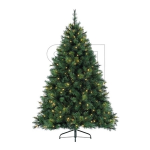 Weihnachtsbaum Vancouver Pine mit LED Beleuchtung 210cm