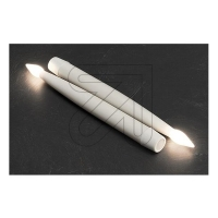 LED Kerzen Set 2 x 1 flammig 23,5cm